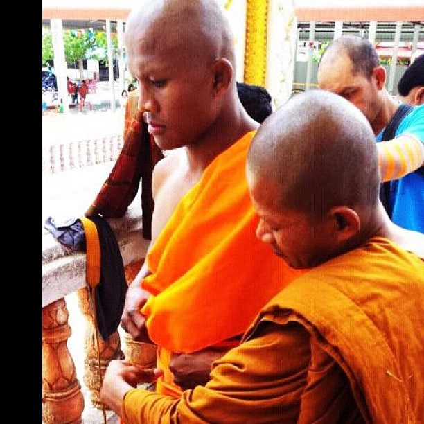Buakaw monk