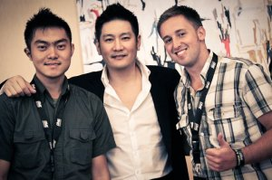 onefc summit - with abraham and chatri