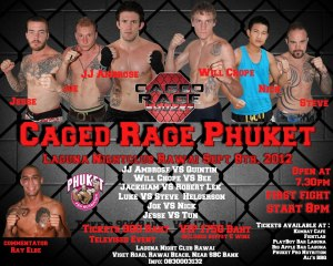 caged rage phuket