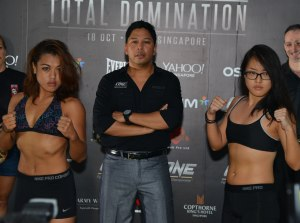 Ann Osman (left), Sherilyn Lim (right)