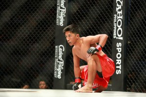 Geje Eustaquio: One of several Filipino fighters looking to get redemption come fight night at ONE FC 13: Moment of Truth.