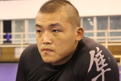 Liu Wenbo, one of Legend FC's last remaining champions.