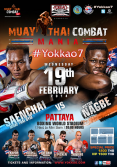 Official fight poster for Yokkao 7.