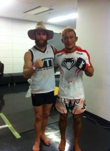 Richie Walsh and Kiichi Kunimoto